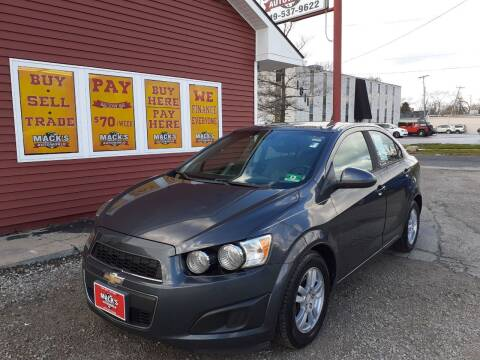 2012 Chevrolet Sonic for sale at Mack's Autoworld in Toledo OH
