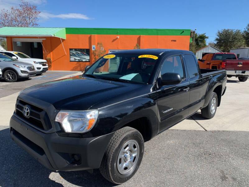 2012 Toyota Tacoma for sale at Galaxy Auto Service, Inc. in Orlando FL