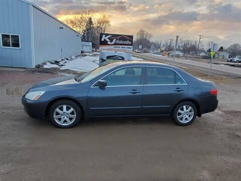 2005 Honda Accord for sale at KJ Automotive in Worthing SD