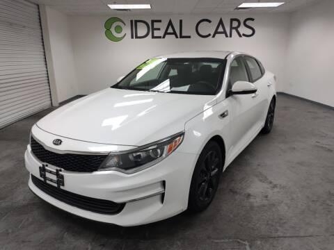 2017 Kia Optima for sale at Ideal Cars East Mesa in Mesa AZ