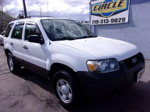 2006 Ford Escape for sale at Circle Auto Center in Colorado Springs CO