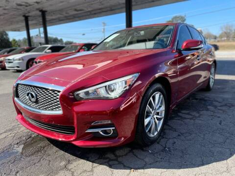 2014 Infiniti Q50 for sale at Magic Motors Inc. in Snellville GA
