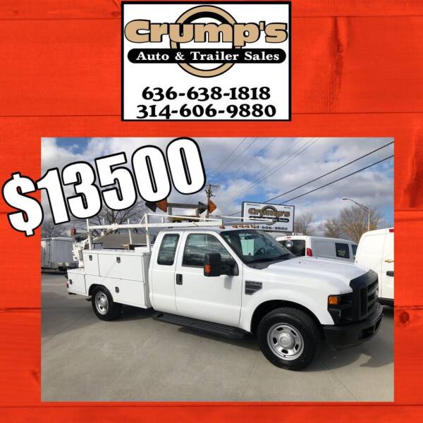 2010 Ford F-350 Super Duty for sale at CRUMP'S AUTO & TRAILER SALES in Crystal City MO