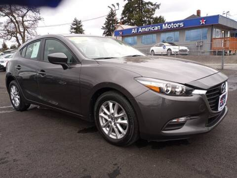 2018 Mazda MAZDA3 for sale at All American Motors in Tacoma WA