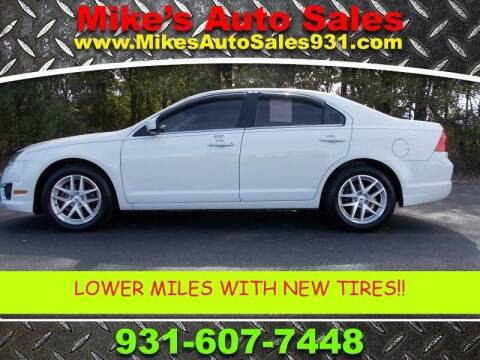 2011 Ford Fusion for sale at Mike's Auto Sales in Shelbyville TN