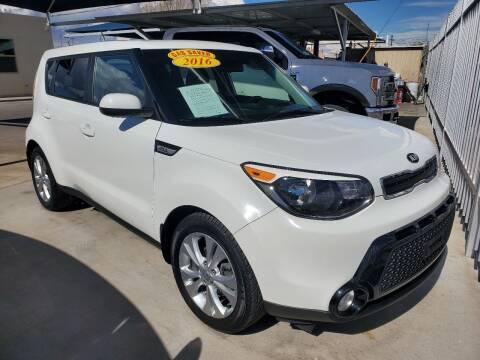 2016 Kia Soul for sale at Hugo Motors INC in El Paso TX