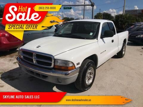 1998 Dodge Dakota for sale at SKYLINE AUTO SALES LLC in Winter Haven FL
