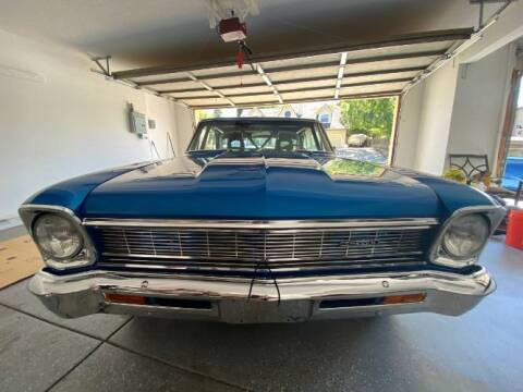 1966 Chevrolet Nova for sale at Classic Car Deals in Cadillac MI
