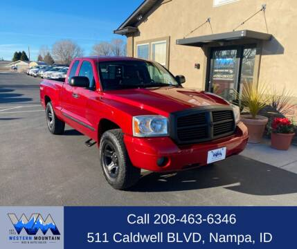 2007 Dodge Dakota for sale at Western Mountain Bus & Auto Sales in Nampa ID