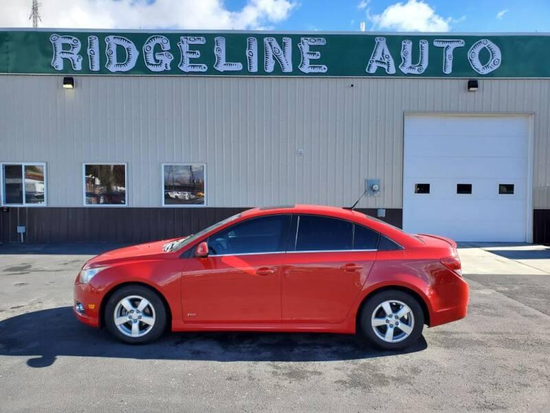 2012 Chevrolet Cruze for sale at RIDGELINE AUTO in Chubbuck ID