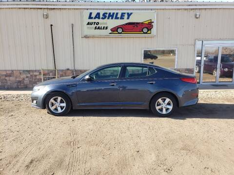 2015 Kia Optima for sale at Lashley Auto Sales in Mitchell NE