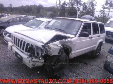 1999 Jeep Cherokee for sale at East Coast Auto Source Inc. in Bedford VA
