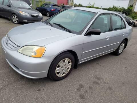 2003 Honda Civic for sale at JG Motors in Worcester MA