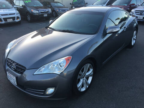 2011 Hyundai Genesis Coupe for sale at CARSTER in Huntington Beach CA