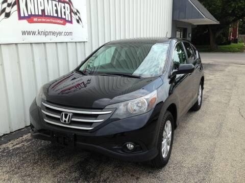 2013 Honda CR-V for sale at Team Knipmeyer in Beardstown IL