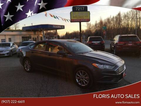 2017 Ford Fusion for sale at FLORIS AUTO SALES in Anchorage AK