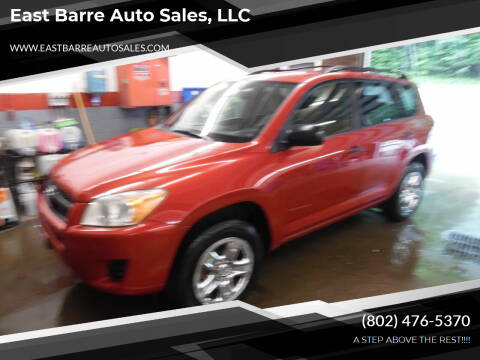 2009 Toyota RAV4 for sale at East Barre Auto Sales, LLC in East Barre VT