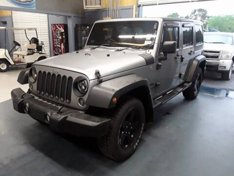 2014 Jeep Wrangler Unlimited for sale at Smart Chevrolet in Madison NC
