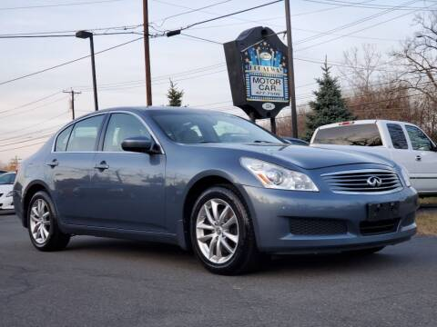 2009 Infiniti G37 Sedan for sale at Broadway Motor Car Inc. in Rensselaer NY