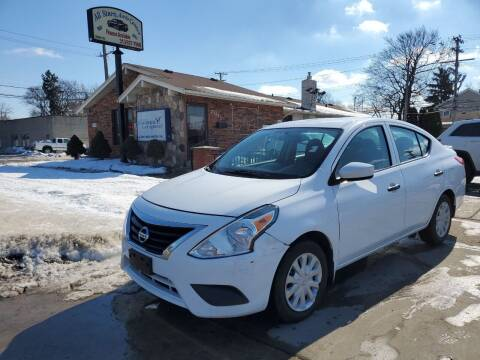 2016 Nissan Versa for sale at All Starz Auto Center Inc in Redford MI