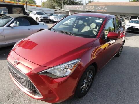 2019 Toyota Yaris for sale at DeWitt Motor Sales in Sarasota FL
