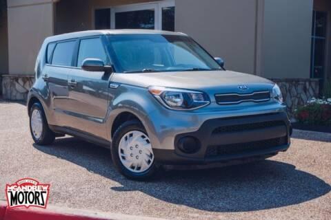 2019 Kia Soul for sale at Mcandrew Motors in Arlington TX