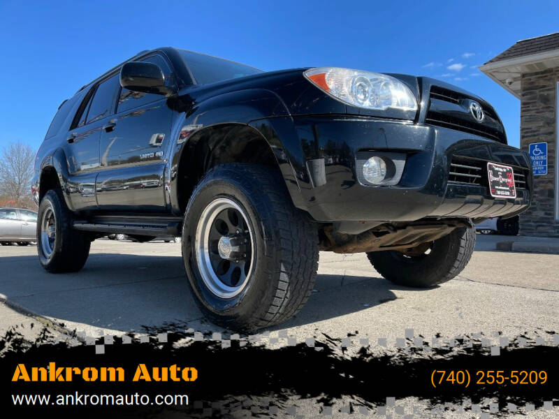 2006 Toyota 4Runner for sale at Ankrom Auto in Cambridge OH