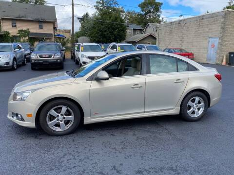 2011 Chevrolet Cruze for sale at E & A Auto Sales in Warren OH