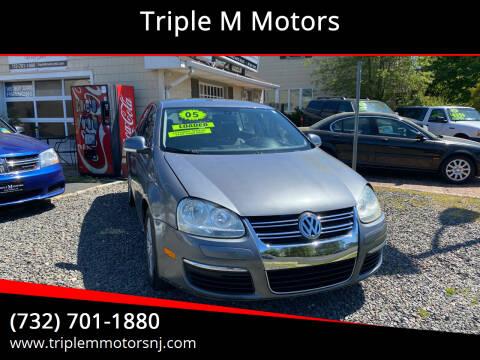 2005 Volkswagen Jetta for sale at Triple M Motors in Point Pleasant NJ