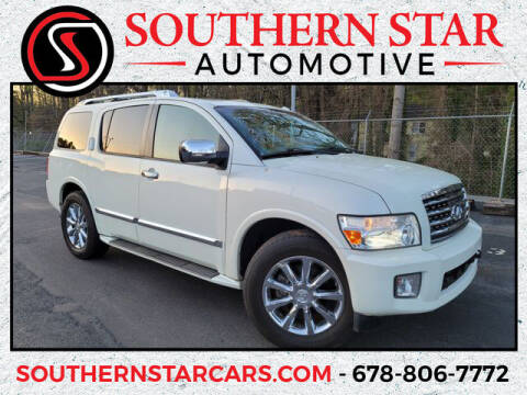 2010 Infiniti QX56 for sale at Southern Star Automotive, Inc. in Duluth GA