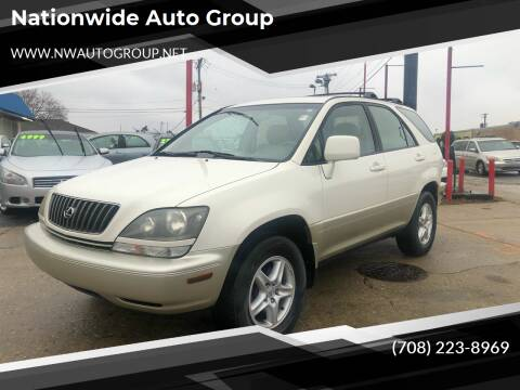 2000 Lexus RX 300 for sale at Nationwide Auto Group in Melrose Park IL