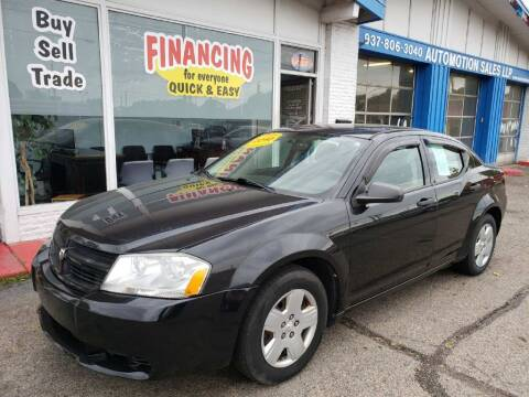 2010 Dodge Avenger for sale at AutoMotion Sales in Franklin OH