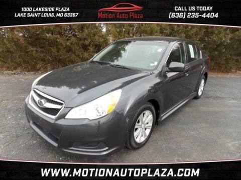 2011 Subaru Legacy for sale at Motion Auto Plaza in Lakeside MO