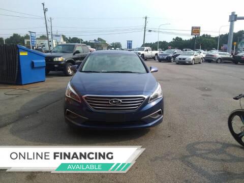 2017 Hyundai Sonata for sale at Marino's Auto Sales in Laurel DE