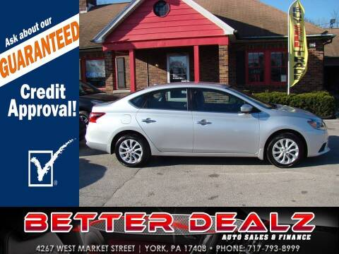 2018 Nissan Sentra for sale at Better Dealz Auto Sales & Finance in York PA