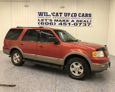 2003 Ford Expedition for sale at Wildcat Used Cars in Somerset KY