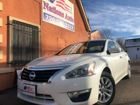 2014 Nissan Altima for sale at Nations Auto Inc. II in Denver CO