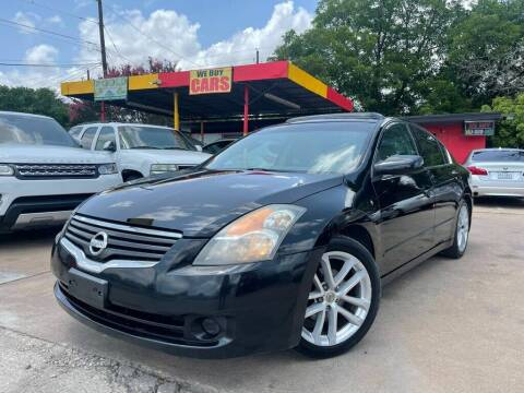 2009 Nissan Altima for sale at Texas Select Autos LLC in Mckinney TX