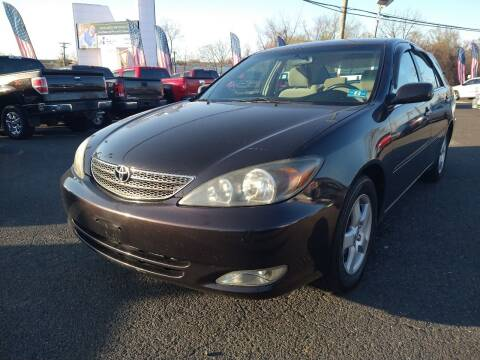 2002 Toyota Camry for sale at P J McCafferty Inc in Langhorne PA