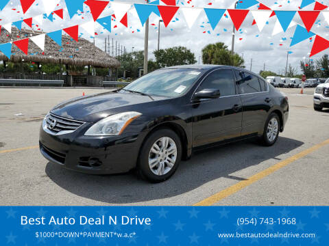 2012 Nissan Altima for sale at Best Auto Deal N Drive in Hollywood FL