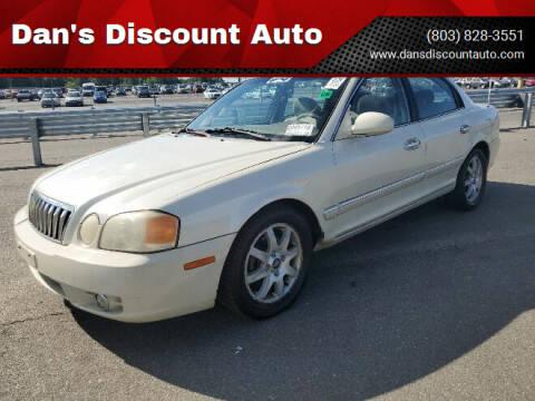2003 Kia Optima for sale at Dan's Discount Auto in Gaston SC