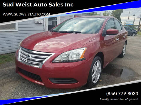 2015 Nissan Sentra for sale at Sud Weist Auto Sales Inc in Maple Shade NJ