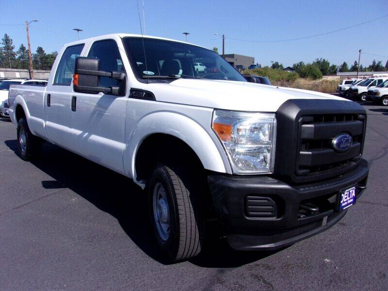 2012 Ford F-250 Super Duty for sale at Delta Auto Sales in Milwaukie OR