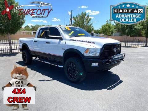 2012 RAM Ram Pickup 2500 for sale at DUKE CITY AUTO SALES in Albuquerque NM