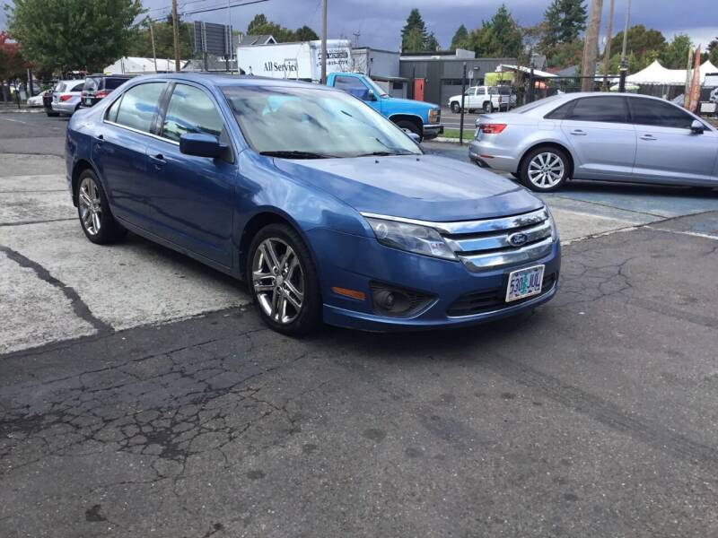 2010 Ford Fusion for sale at Longoria Motors in Portland OR