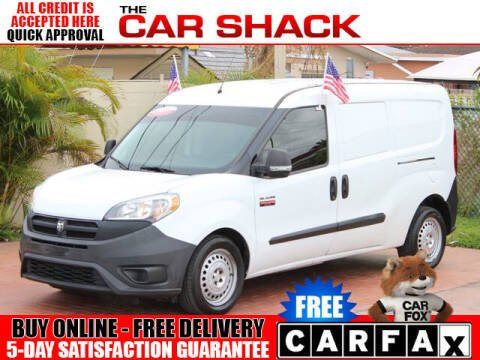 2016 RAM ProMaster City Wagon for sale at The Car Shack in Hialeah FL