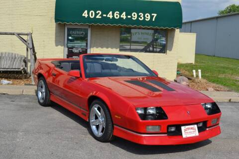 1989 Chevrolet Camaro for sale at Eastep's Wheels in Lincoln NE