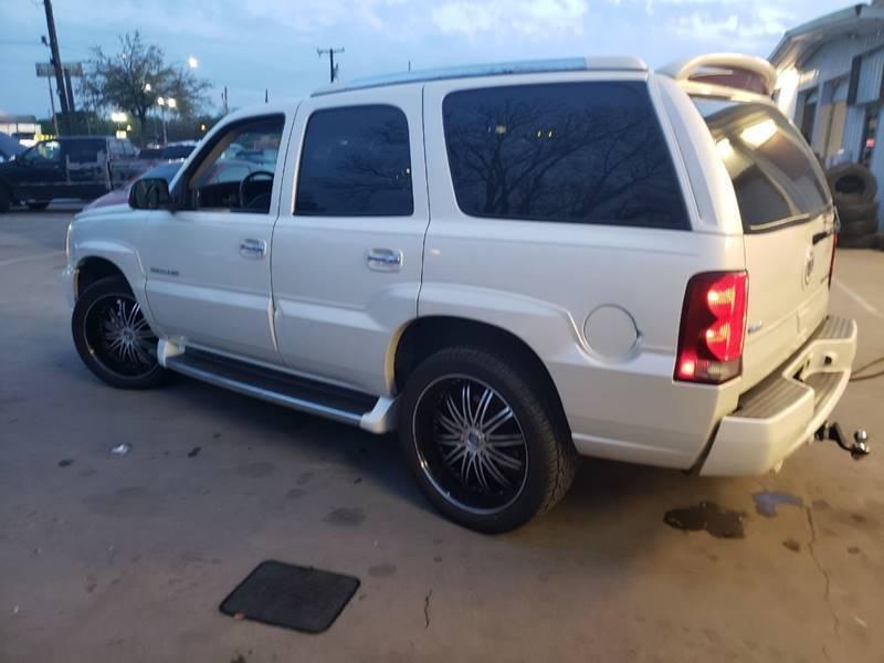 2003 Cadillac Escalade AWD 4dr SUV - Dallas TX