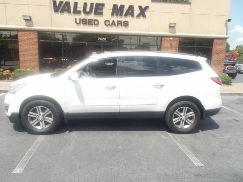 2015 Chevrolet Traverse for sale at ValueMax Used Cars in Greenville NC