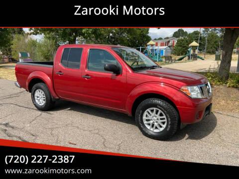 2015 Nissan Frontier for sale at Zarooki Motors in Englewood CO